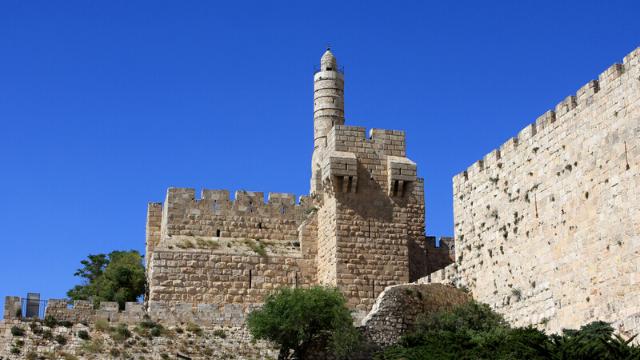 מלך בירושלים - ביקור בארמונו של המלך הורדוס