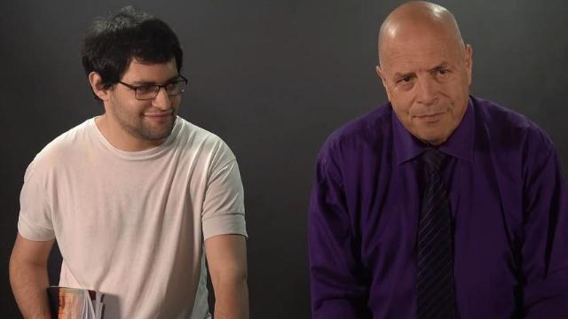 ממעמקים קראתיך- ירון קימור משתף פעולה עם בנו גיל קימור בעל תסמונת אספרגר על הרצף האוטיסטי