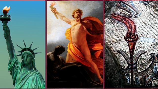 """מרוץ הלפיד – מהתנ""""ך דרך המיתולוגיה ועד ללפיד של פסל החרות"""