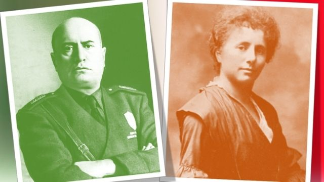 בניטו מוסוליני ומרגריטה צרפתי